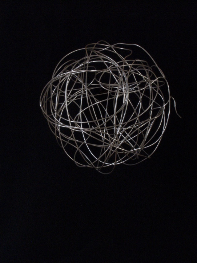 Colin Glen silver wire ball
